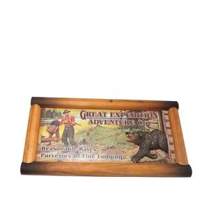Rivers Edge Great Expedition Rustic Humor Wall Art